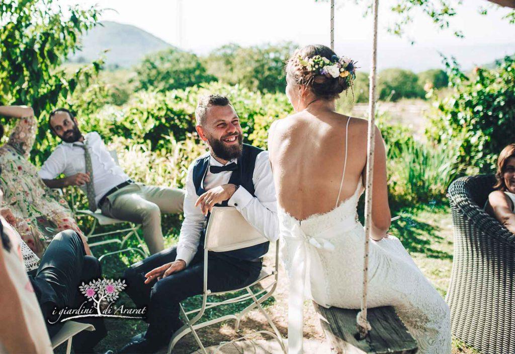 Foto Matrimonio Bohemien : Il matrimonio boho chic di arianna e andrea i giardini di ararat