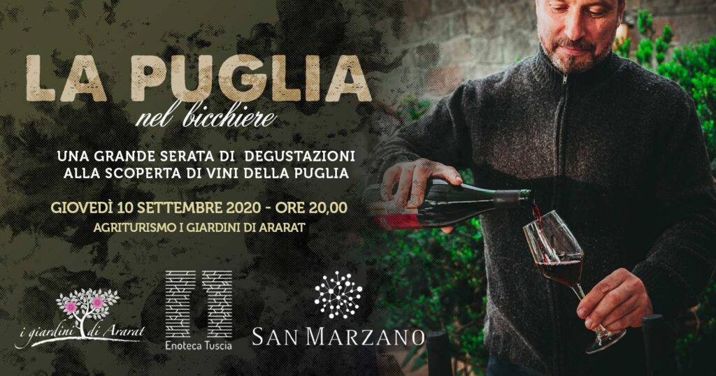 Degustazione vini della Puglia